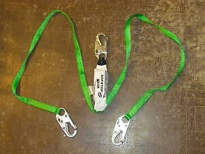 Miller Honeywell Safety Harness Lanyard 980wls z7 6ftgn