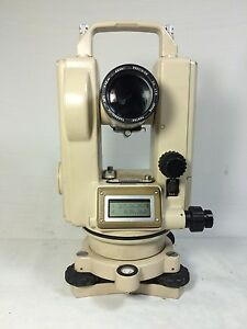 Pentax Th e20c Digital Theodolite