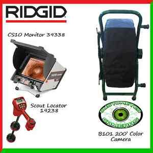Ridgid Cs10 39338 Customeyes 200 Color Camera Scout Locator 19238