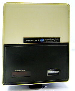 Nanometrics Nanospec Aft Film Thickness Analyzer Head 010 0181