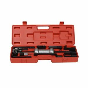 Automotive Slide Hammer Dent Puller Auto Body Repair Tool Kit Heavy Duty W Case