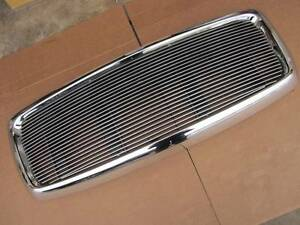 02 05 Dodge Ram 1500 03 05 Ram 2500 3500 All Metal Complete Front Grill Grille