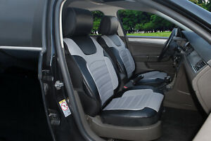 New Car Seat Covers Cushion Leather Like 2 Front For Bmw A803 black