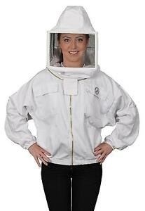 Humble Bee 312 m Polycotton Beekeeping Jacket With Square Veil