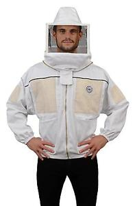 Humble Bee 332 l Ventilated Beekeeping Jacket With Square Veil