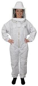 Humble Bee 412 Polycotton Beekeeping Suit With Square Veil large