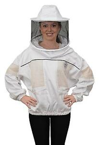 Humble Bee 530 Ventilated Beekeeping Smock With Round Veil x large