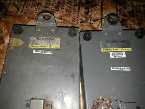 Fanuc A05b 2012 c056 Operator Panel Teach Pendant Lot Of 2 As In Picture