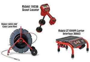 Ridgid 200 Color Reel 14053 Navitrack Scout Locator 19238 Lt1000m 36663