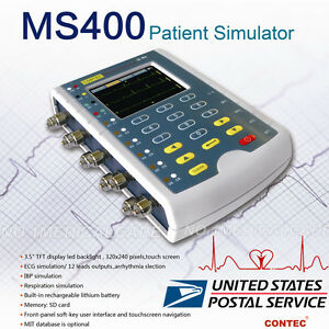 Us Sell New Multi parameter Touch Patient Simulator Ecg arrhythmia Contec