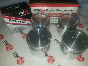 Piston Set W Rings 040 Fits Datsun 510 620 610 710 720 L18