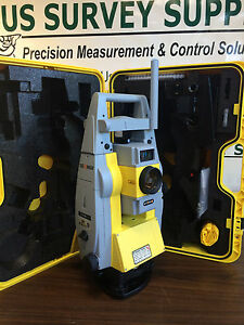 Geomax 5 Zoom90 Robotic Total Station 1 Man Syst Brand New W Wnty Support