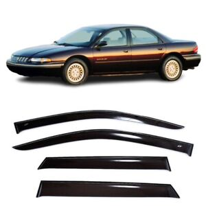 For Chrysler Concorde 93 97 Window Visors Side Sun Rain Guard Vent Deflectors