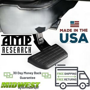 Amp Research Bedstep Truck Bed Step Fits 2009 2018 Dodge Ram W Dual Exhaust