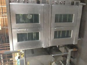 Ge Electric Double Stacked Ovens 1719 25
