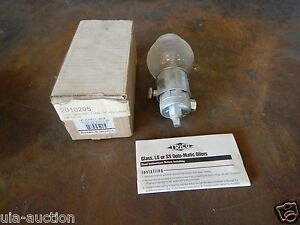 New Trico 30005 Optomatic Glass Oiler 1 4 Npt Outlet 8 Oz New New