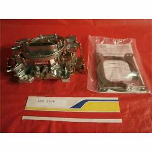 Edelbrock 9904 Carburetor Remanufactured 1404 500cfm Manual Choke