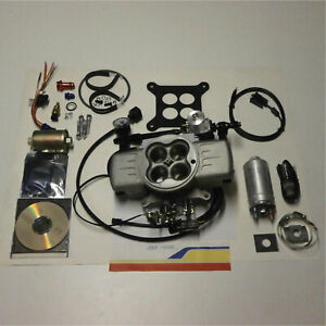 Professional Products 70026 Fuel Injection Sys Powerjection Iii Kit 750cfm Gas