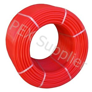 1 2 X 1000 Ft Pex Tubing Oxygen Barrier O2 Red Evoh Radiant Floor Heat