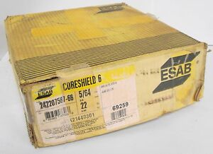 Esab 242207587 66 Coreshield 6 5 64 22lbs Mig Welding Wire