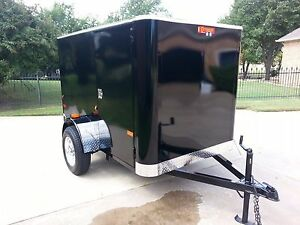 Enclosed Auto Detailing Pressure Washing Trailer