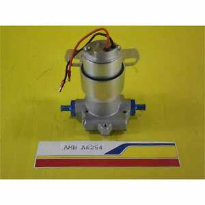 Ambush Performance A6254 Fuel Pump Electric 120gph High Flow 14psi 3 8 npt Por