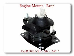 A4516 Engine Mount Rear For Acura Tsx 2004 2008 Honda Accord 2003 2007 L4 2 4l