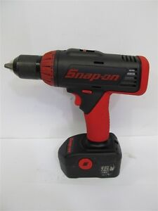 Snap On Tools Cdr6850a 1 2 18 Volt Cordless Drill Battery Used