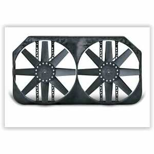 Flex a lite 280 Dual Electric Fan 15 Shrouded Puller W Variable Speed Control