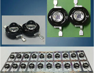 High Power 3w 850nm Infrared Led Beads For Night Vision Camera 60 degree Epistar