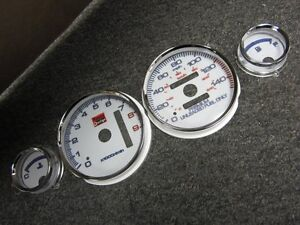 94 01 Acura Integra Gs R Gsr 7 Color Automatic Cluster Led Glow Gauges 9k Rpm