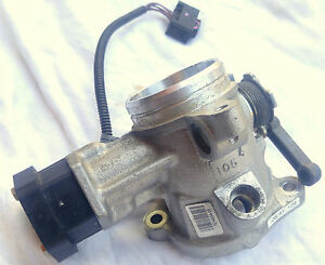 Bmw M5 M6 S85 V10 E60 Individual Throttle Body 7834834 06