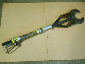 Hydraulic Cable Cutter Extended Reach 1 2 Ports 340ss10644