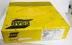 Esab 242200947 Dual Shield R 70 Ultra Flux Cored Welding Wire 60lb 3 32
