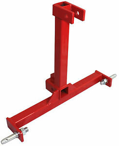 Category 1 Drawbar Tractor Trailer 2 Hitch Receiver 3 Point Attachment New