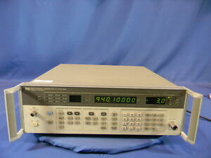 Keysight Agilent Hp 8657a 1 040 Ghz Signal Generator 30 Day Warranty