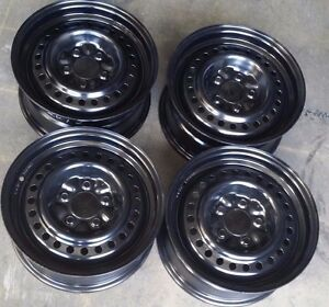 Chrysler Town Country Factory Oem Steel Wheels Rims 15x6 1 2 1996 2000