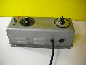 Nuarc Cp25 Lamp Power Supply 115 Volts Amps 1 0 115v 60 Ac Used 30 Day Guarantee