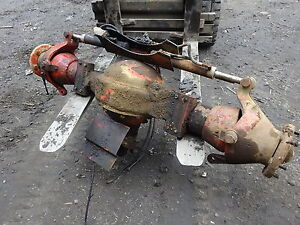 Ditch Witch R100 Rear Differential Complete Rockwell Qhr Axle Trencher R 100