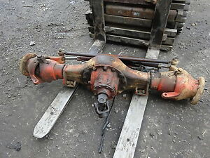 Ditch Witch R100 Rear Axle Complete Rockwell Qhr Differential Trencher R 100