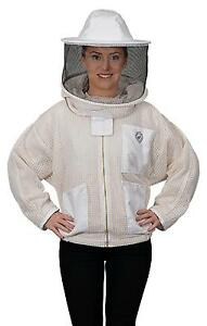 Humble Bee 320 Aerated Beekeeping Jacket With Round Veil large
