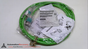 Siemens 6fx8002 2ad04 1ad0 Signal Cable 3 Meters Male female Strai 224030