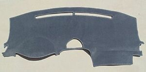 Fits 2004 2007 Toyota Sienna Dash Cover Mat Dashboard Cover Charcoal Gray Smoke