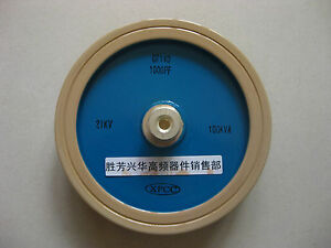 Dt140 1000pf 21kv 100kva High Voltage Frequency Ceramic Disc Capacitor j841 Lx