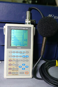 Rion Na 29 Professional Octave Band Analysis Sound Level Meter 20hz 8khz 130db