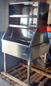 Commercial Stainless Steel Sink With Cabinets 6 X 3 X 3