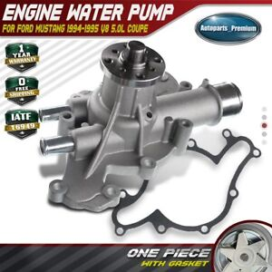 Engine Water Pump For Ford Mustang 1994 1995 Gt Svt Cobra V8 5 0l Aw4087 Ohv