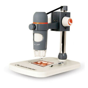 Celestron 44308 Handheld Digital Microscope With 20 200x Magnification