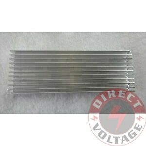 1pc 100 35 10mm Silver Aluminum Heat Sink For Led And Power Ic Transistor