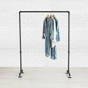 Industrial Pipe Clothing Rack By William Robert s Vintage